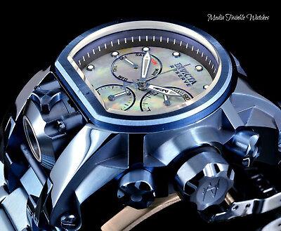 Invicta Reserve 52mm Bolt Zeus NAVY BLUE IP MOP Dial MAGNUM Dual Movement Watch