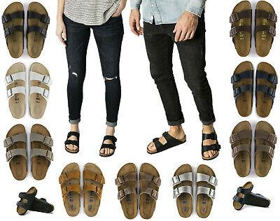 Birkenstock Womens Arizona Classic Slide - Authentic Birkenstock Men Women Unisex Classic ARIZONA Sandals Comfort Slides
