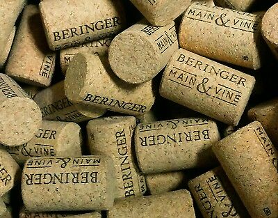 1000 wine corks 1 winery new/used free US shipping