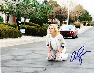 ANNA-GUNN-SIGNED-8X10-PHOTO-AUTHENTIC-AUTOGRAPH-BREAKING-BAD-SKYLAR-COA-B