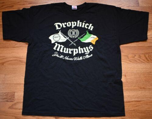 DROPKICK MURPHYS From Boston to Berkeley 2017 Tour Concert Adult XL T-Shirt