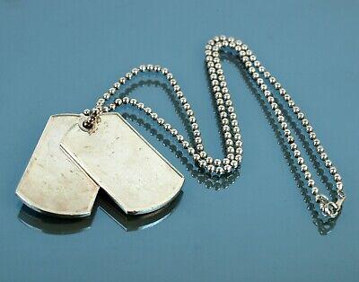 Authentic GUCCI Metal Pendant Silver Tone Chain Necklace Vintage Accessories