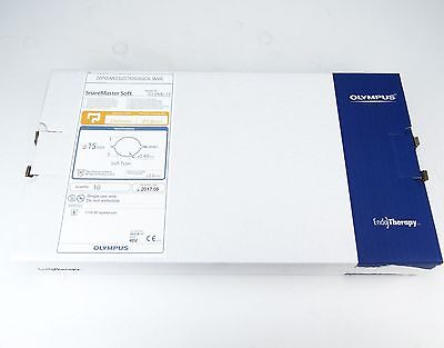 Olympus Sd-240u-15 Disposable Electrosurgical Snaremaster Box Of 10 Exp 2017-05