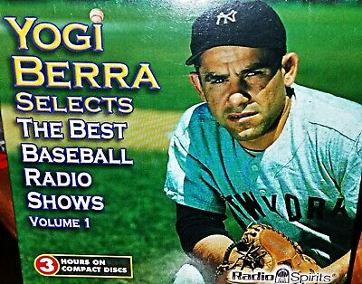 YOGI BERRA: THE BEST BASEBALL RADIO SHOWS -Old Time Radio (OTR) 5 Shows on 3