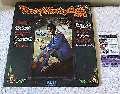 The Best Of Charley Pride Vol 3 1976 Signed Vinyl Record JSA COA