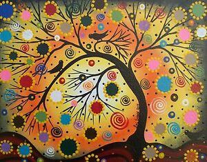 Folk Art Painting Christmas Ideas Bird