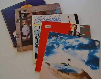 """Vinyl Langspielplatten 4 Stück PLUS Doppelalbum """"Sonderanfertigung""""für Sparkasse"""