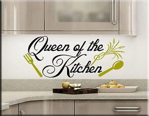 Wall stickers sticker adesivi murali adesivo cucina frasi - Wall stickers cucina ...