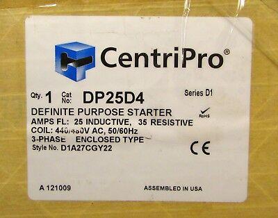 Eaton A27cgy16 25 Amp Definate Purpose Starter Nema 1 Enclosure Centripro Dp25e4