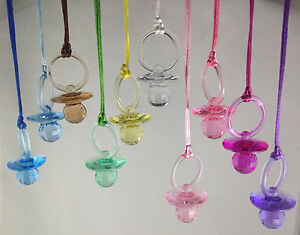 fancy pacifier necklaces dont say baby baby shower game u pick