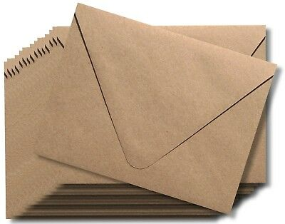 25 Euro Flap Grocery Bag Kraft 80lb Envelopes for Weddings Announcements Shower