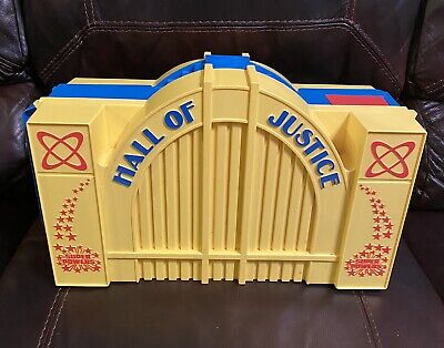 Vintage 1984 Kenner Hall Of Justice - DC Super Powers Playset