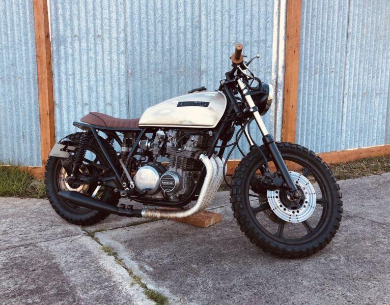 1979 Kawasaki Kz 650 Z650 Cafe Racer Scrambler Project Motorcycles