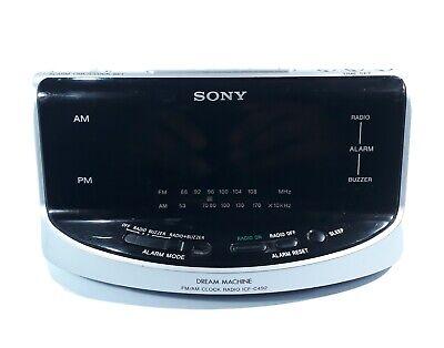 Sony Dream Machine Alarm Clock Radio ICF-C492 Tested