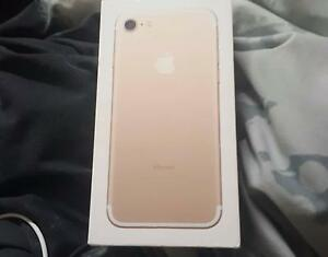 For sale brand new 128gb gold Iphone 7 Wollongong Wollongong Area Preview