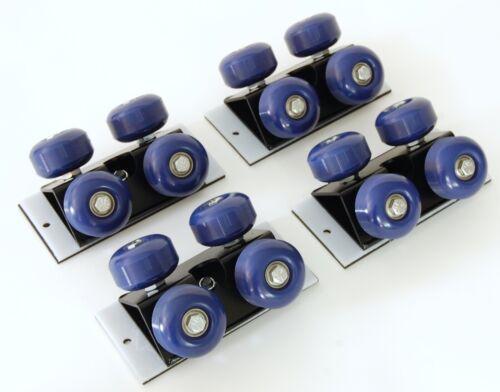 Video Camera Track Slider Dolly Wheels - set of 4 - Swivel + Slide - Arri Red