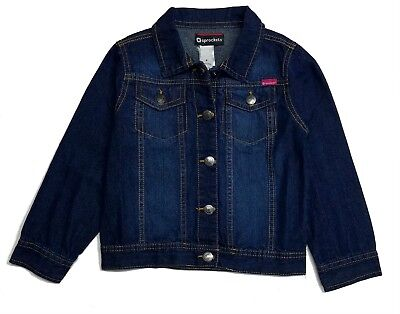 Denim Jacket Baby Girl Toddler Kids Jean Girls 12 18 24 Months 2T 3T 4T 4 5 6 6X