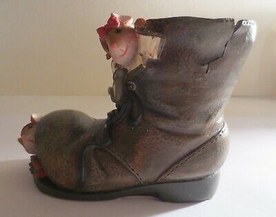 Yankee Candle Christmas Mice Boot Tea Light Candle Holder 1207740 Mint