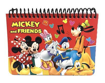 (Disney Mickey Mouse and Friend Red Autograph Book New)
