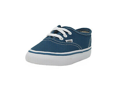 Vans Authentic Classic Shoes Toddlers Infant Sneakers Canvas Navy Blue 0ED9NVY