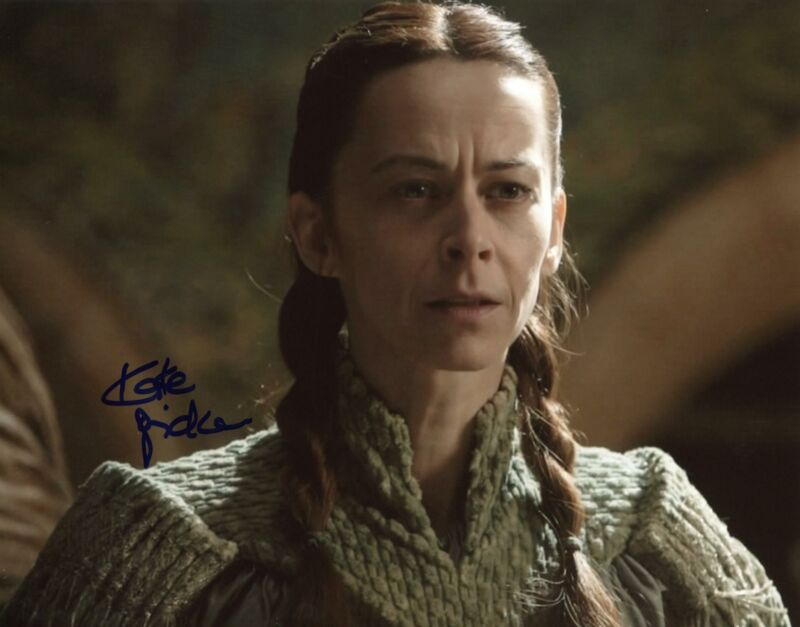 """Kate Dickie """"Game of Thrones"""" AUTOGRAPH Signed 8x10 Photo B ACOA"""