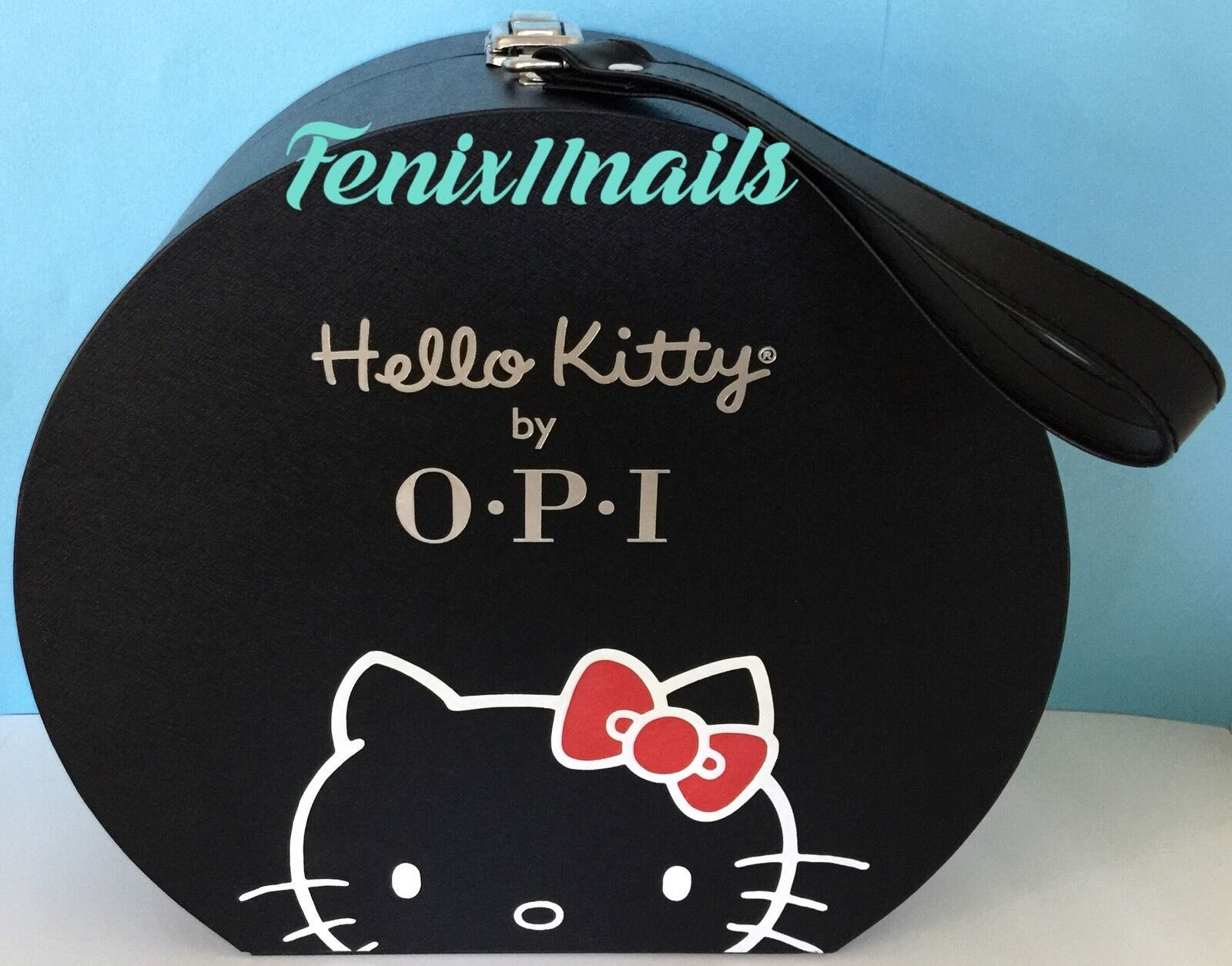 7934e6bae OPI Collector's HELLO KITTY HAT BOX DISPLAY CASE for nail polish gel color  NEW фото
