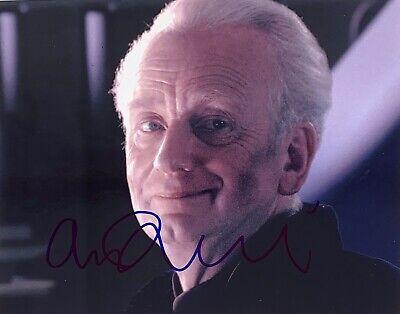 Ian McDiarmid (Star Wars), Hand Autograph Signed 8 X 10 Photo