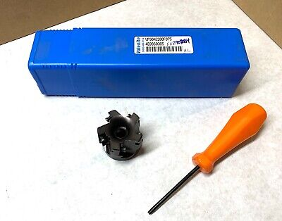 Valenite 2 Indexable Face Milling Cutter - Vf90-as200-f075 - 34 Arbor - New