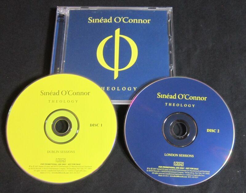 SINEAD O'CONNOR 'THEOLOGY' 2007 PROMO 2-CD SET