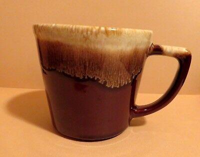 Vintage McCoy Pottery Brown Drip Coffee / Tea Cup Mug