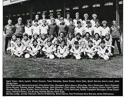 FULHAM FOOTBALL TEAM PHOTO 1978-79 SEASON