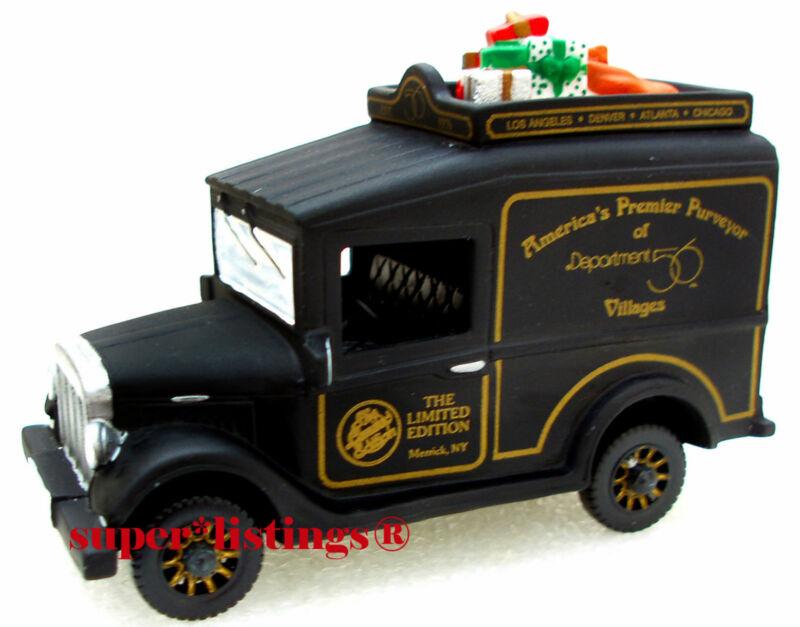 Dept. 56 Village Express Van Black The Limited Edition 1994 Gathering 07331 New
