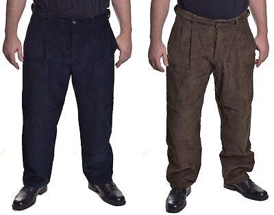 Haggar Men's $70 Casual Classic Fit 8 Wale Corduroy Pants Choose Color & Size 8 Wale Corduroy