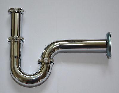 Röhrensiphon Edelstahl Röhrensifon Siphon Sifon Waschbecken Geruchverschluss