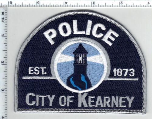 City of Kearney Police (Nebraska) Shoulder Patch  new from the 1980