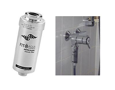 NEU: Duschfilter FitAqua Antiscaling Wasserfilter Dusche gegen Chlor und