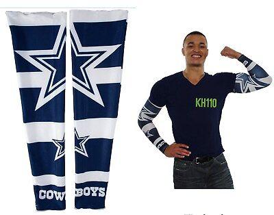 Nfl Dallas Cowboys Fan - Dallas Cowboys NFL Strong Arm Fan Sleeve Set Of Two