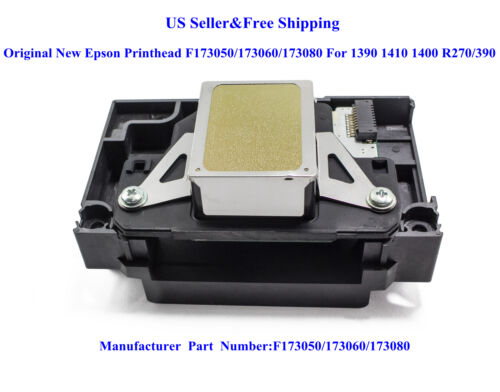 Original New Epson Printhead F173050/173060/173080 For 1390 1410 1400 R270/390