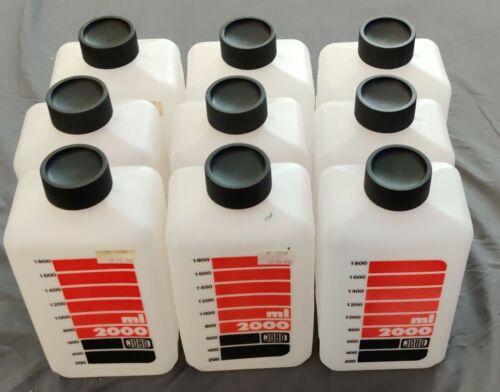 Jobo NEW 2000 ml CLEAR Bottle Set of Three (3)