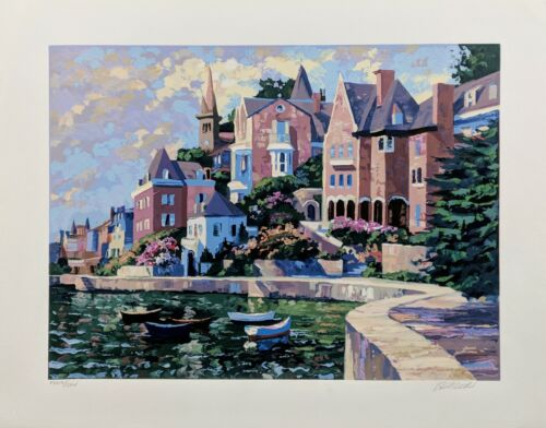 "Howard Behrens ""afternoon At Dinards"" 1995 