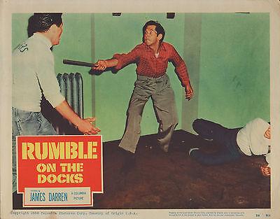 Rumble On The Docks 1956 11X14 Lobby Card  Nn