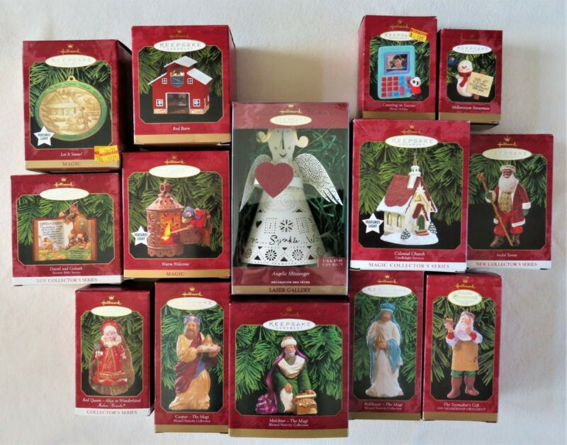 Hallmark Keepsake Ornaments 1999 - Box 2 (Lot of 15)