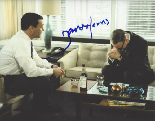 ACTOR JARED HARRIS SIGNED 'MAD MEN' LANE PRYCE 8X10 PHOTO B COA CHERNOBYL PROOF