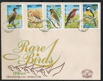 Kenya FDC  stamps birds