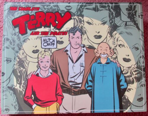 THE COMPLETE TERRY AND THE PIRATES Volume 2 1937-1938 Hardcover 2007 Milt Caniff