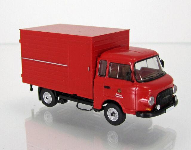 "Brekina 30360 IFA Barkas B 1000 Koffer "" Berliner Feuerwehr """