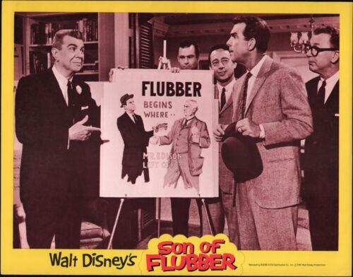 SON OF FLUBBER original 1962 lobby card FRED MACMURRAY 11x14 DISNEY movie poster