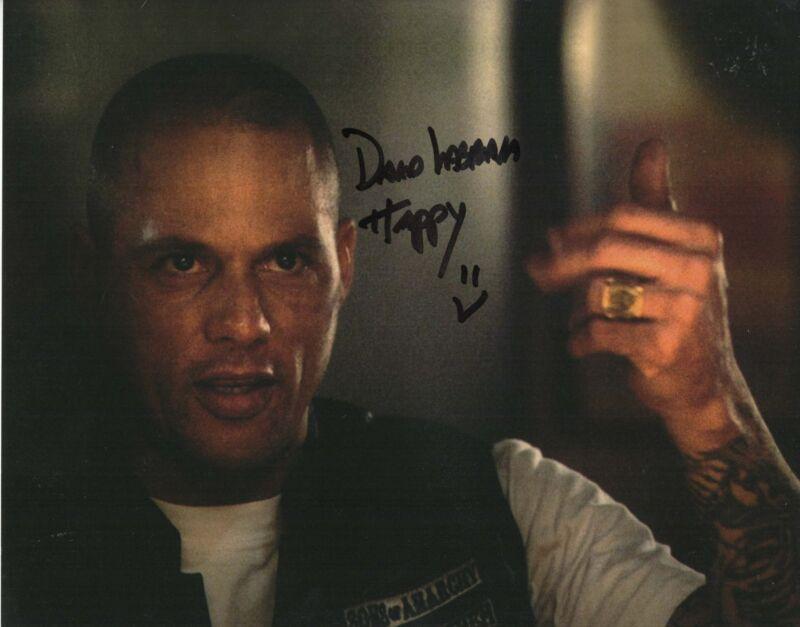 David Labrava Autograph 8x10 Photo SOA Sons of Anarchy Happy Picture COA 5
