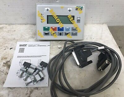 New Uniop Epad03-cf46 Display Lcd Screen Operator Interface 24 Vdc Unused