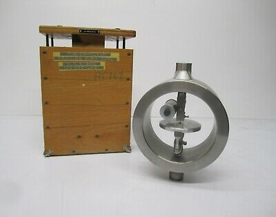Vtg Tinius-olsen Testing Machine Proving Ring Gauge Tool 100000 Capacity Crate